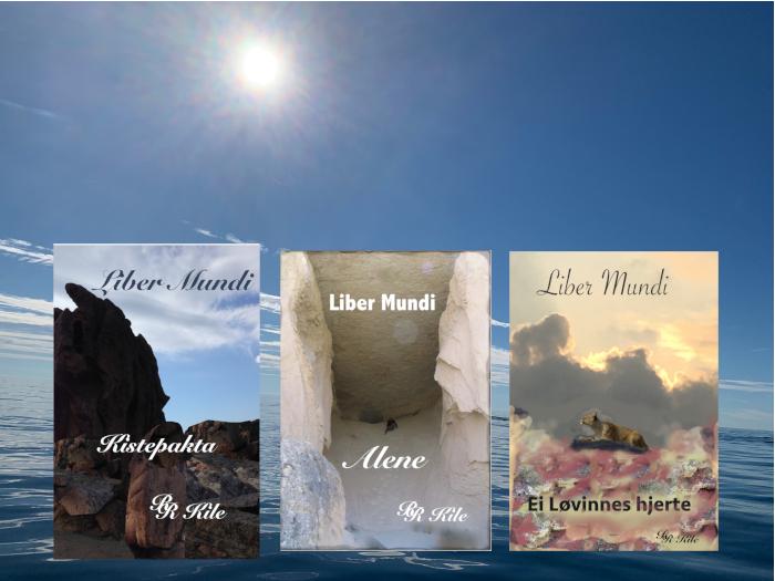 Norsk Fantasy, Serien Liber Mundi, Serien skal bli til 24 bøker. Tre er utgitt, Kistepakta, Alene og Ei løvinnes hjerte.