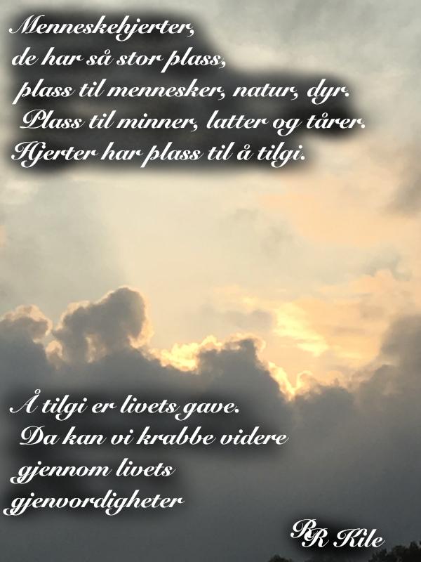 Ord og poesi, vers, dikt, lyrikk, versemål, verselinjer, gjennom ord og dype slukter, på ei reise gjennom tømmerstokker og perler, hilse på et vindpust. Forfatter R.R. Kile